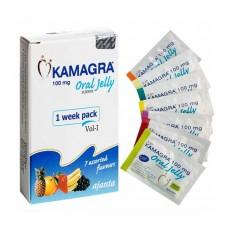 Kamagra Vol 1 Oral Jelly 100 mg | 7 Sachets